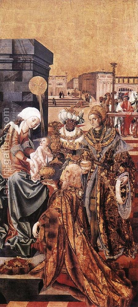 The Adoration of the Magi 1506-10 by Master M.S. - Reproduction Oil Painting