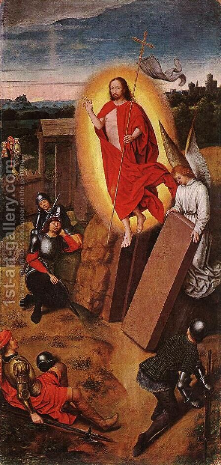 Resurrection by Hans Memling - Reproduction Oil Painting