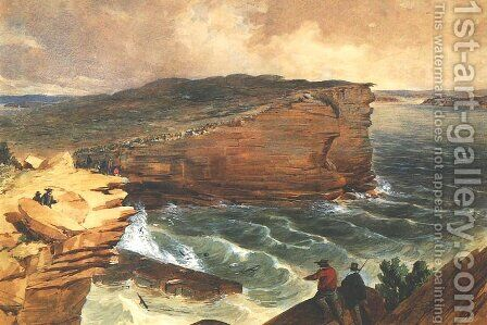 Gap, South Head by Edmund Thomas - Reproduction Oil Painting