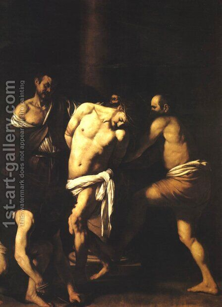Flagellation of Christ by Caravaggio - Reproduction Oil Painting