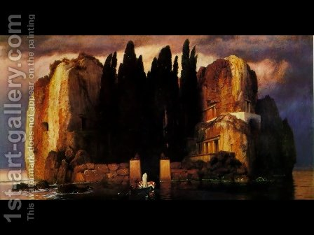 Isle of the Dead by Arnold Böcklin - Reproduction Oil Painting