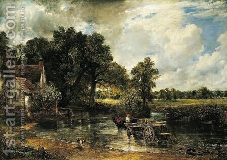 Haywain by John Constable - Reproduction Oil Painting