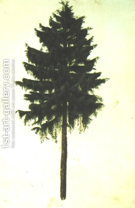 Pine Tree by Albrecht Durer - Reproduction Oil Painting