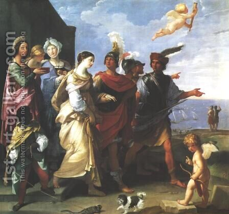 Abduction of Helen by Guido Reni - Reproduction Oil Painting