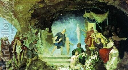 Orpheus in the Underworld by Henryk Hector Siemiradzki - Reproduction Oil Painting