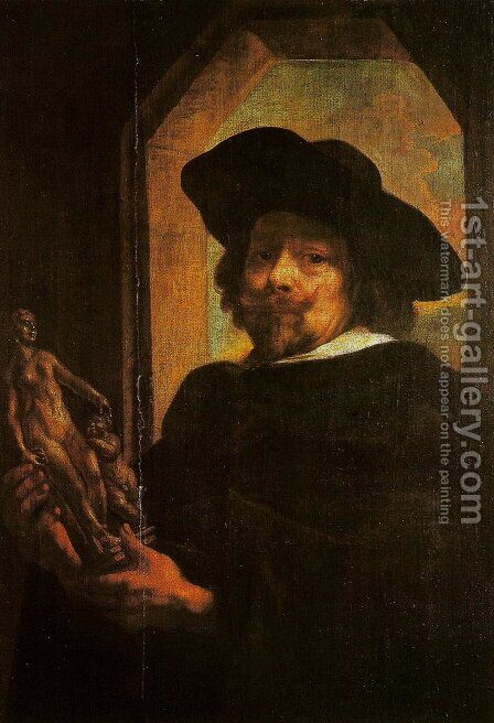 Self-Portrait by Jacob Jordaens - Reproduction Oil Painting