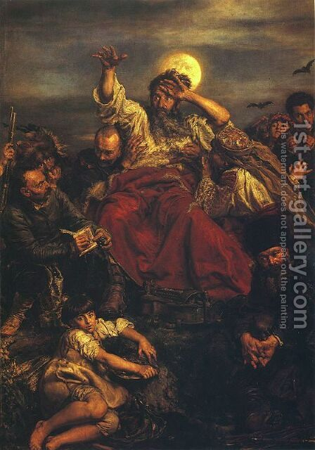 Wernyhora by Jan Matejko - Reproduction Oil Painting