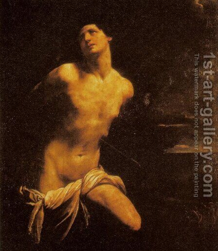 St. Sebastian (San Sebastiano) by Guido Reni - Reproduction Oil Painting