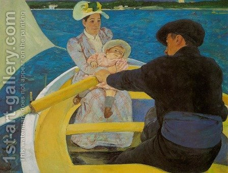 Boating Party by Mary Cassatt - Reproduction Oil Painting