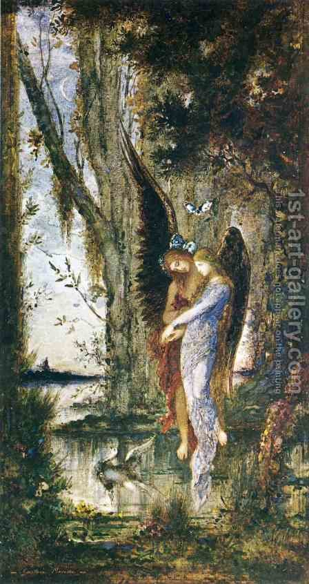 Evening and Sorrow 1882-84 by Gustave Moreau - Reproduction Oil Painting