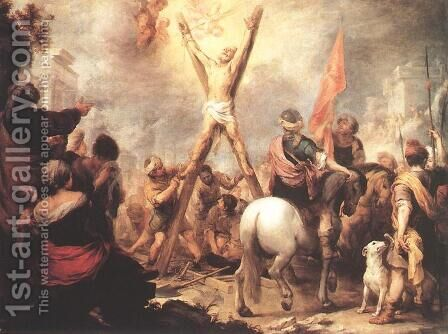 The Martyrdom of St Andrew 1675-82 by Bartolome Esteban Murillo - Reproduction Oil Painting