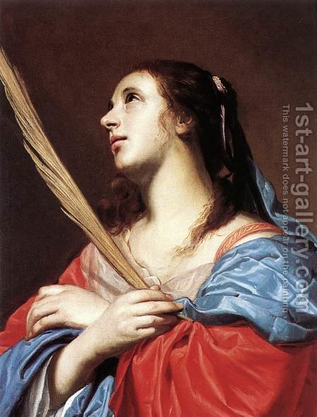 Female Martyr by Jacob van, the Elder Oost - Reproduction Oil Painting